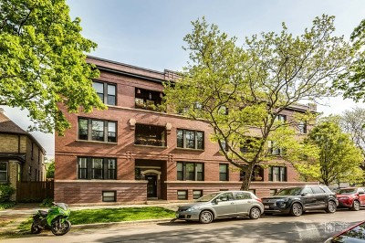 Condo/Townhouse For Sale: 1308 West Granville Avenue #1