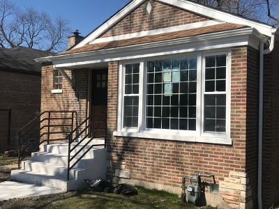Chicago Single Family Home For Sale: 456 West 101st Place
