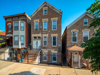 Chicago Multi Family Home Re-Activated: 2038 West 22nd Place