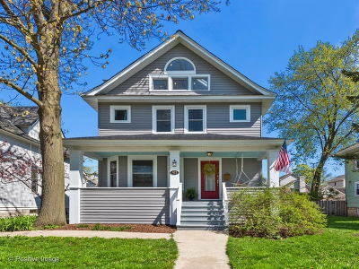 Wheaton Single Family Home For Sale: 423 West Wesley Street