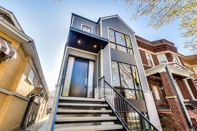Single Family Home Price Change: 3623 North Leavitt Street