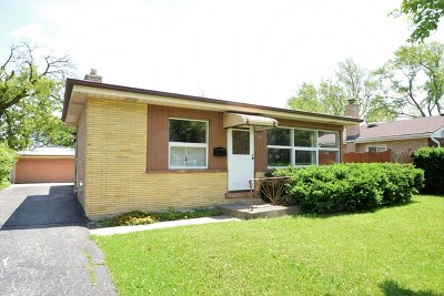 Niles Single Family Home For Sale: 8207 Odell Avenue