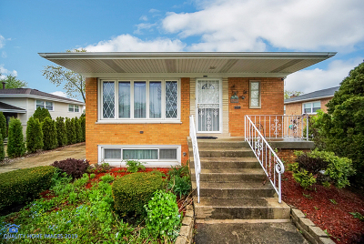 Palos Hills Single Family Home For Sale: 10530 South 81st Avenue