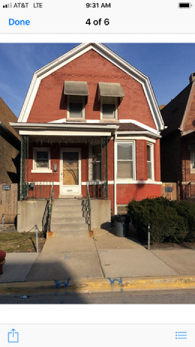 Single Family Home Price Change: 3435 North Kedzie Avenue