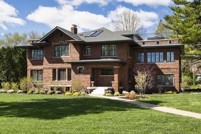 Winnetka Single Family Home For Sale: 264 Sheridan Road