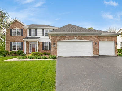 Plainfield Single Family Home For Sale: 2407 Fresno Lane
