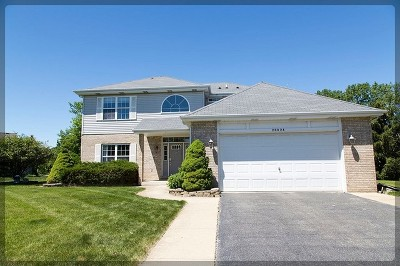 Mokena Single Family Home For Sale: 20028 Lakeview Way