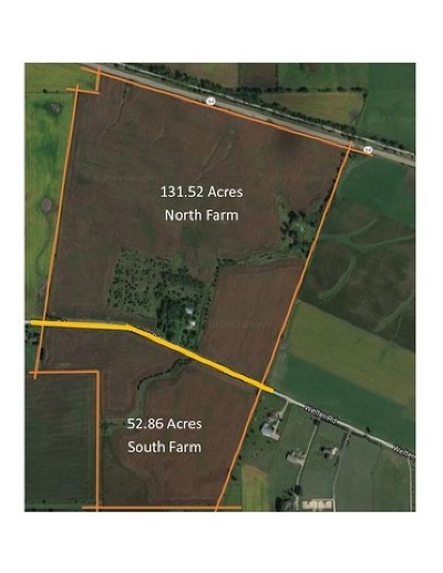 Maple Park Residential Lots & Land For Sale: Lot 003 Rt 64, North Farm