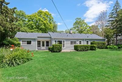 Evanston Single Family Home For Sale: 3606 Central Street