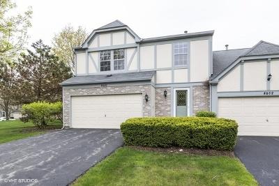 Hoffman Estates Condo/Townhouse For Sale: 4600 Burnham Drive
