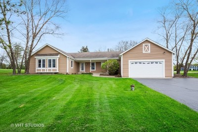 Wauconda Single Family Home For Sale: 25386 West Marilyn Meadow Court