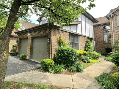 Orland Park Condo/Townhouse For Sale: 14409 Crystal Tree Drive