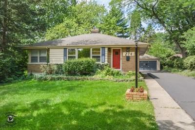 Glen Ellyn Single Family Home For Sale: 274 Scott Avenue