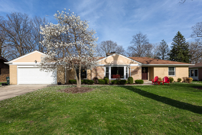 Glenview Single Family Home For Sale: 1645 Forest Drive