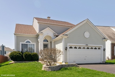 Bartlett Single Family Home For Sale: 492 Knoll Crest Drive