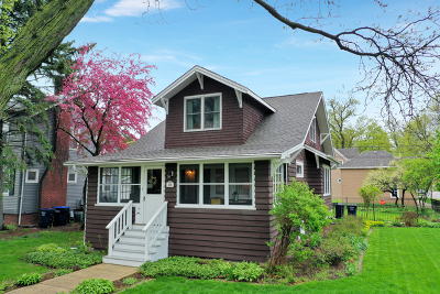 La Grange Park Single Family Home For Sale: 401 North Brainard Avenue