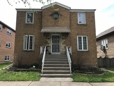 Elmwood Park Multi Family Home For Sale: 2632 North 73rd Avenue