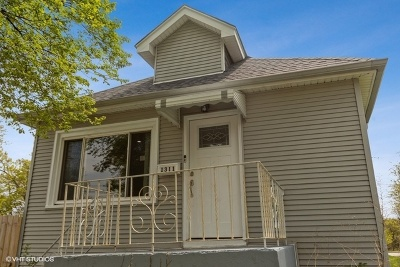 Chicago IL Single Family Home Re-Activated: $158,000