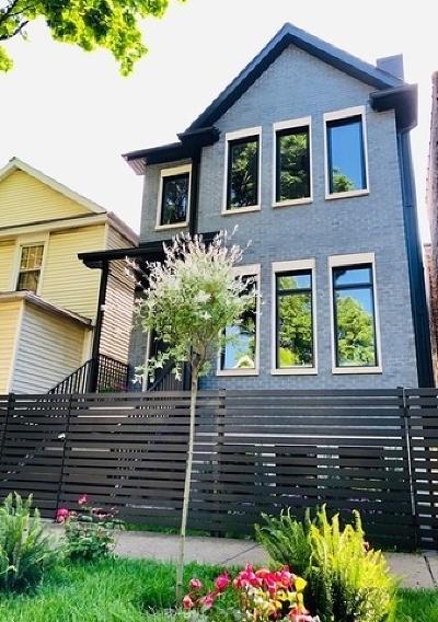 Roscoe Village Single Family Home For Sale: 3321 North Oakley Avenue