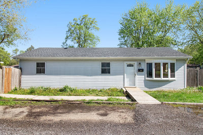 Joliet Single Family Home Re-Activated: 125 Anderson Avenue