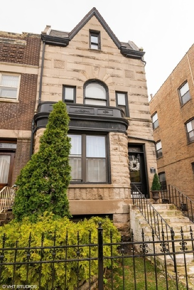 Chicago Single Family Home For Sale: 911 West Addison Street