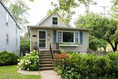 Evanston Single Family Home For Sale: 1044 Dewey Avenue