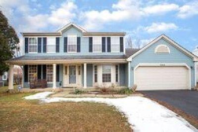 Carol Stream Single Family Home Price Change: 1342 Lilac Lane