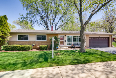 Mount Prospect Single Family Home For Sale: 605 North Wilshire Drive