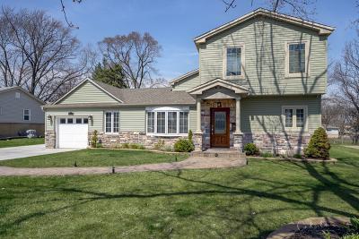 Hoffman Estates Single Family Home Contingent: 70 Bradley Lane