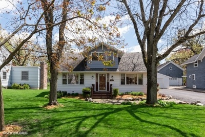 Crystal Lake Single Family Home For Sale: 81 South Oriole Trail