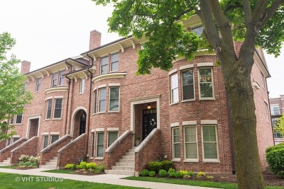 Palatine Condo/Townhouse For Sale: 54 South Greeley Street