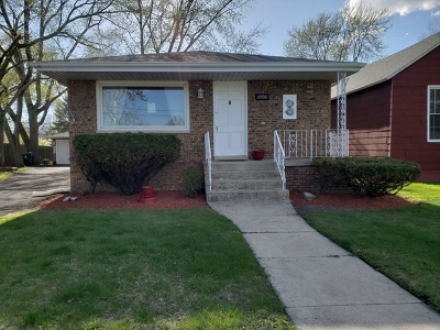 Lansing Single Family Home For Sale: 18930 Wentworth Avenue