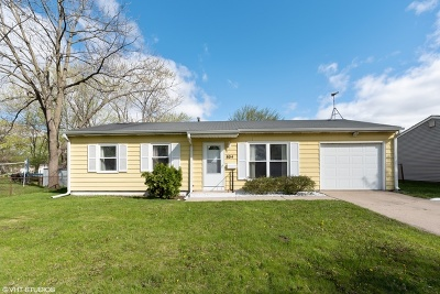 Streamwood Single Family Home For Sale: 804 Hillside Drive