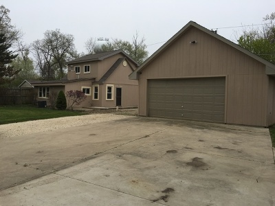 Crystal Lake Single Family Home Contingent: 8718 Hickory Avenue
