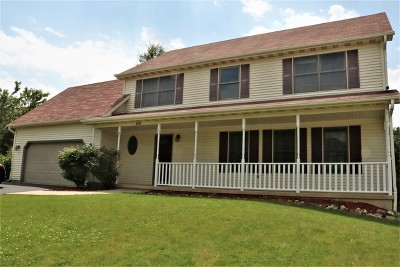 Elburn Single Family Home Price Change: 654 Ridge Drive