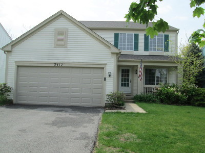 Naperville Rental For Rent: 3417 O'hara Terrace