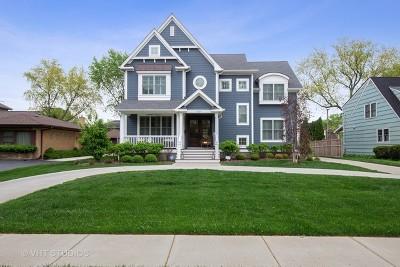 Western Springs Single Family Home For Sale: 5225 Fair Elms Avenue