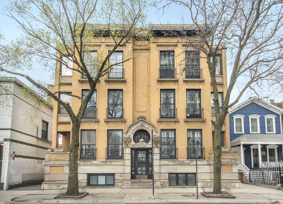 Condo/Townhouse For Sale: 447 West Fullerton Parkway #1W