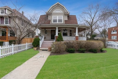 Chicago Single Family Home For Sale: 3903 North Lawndale Avenue