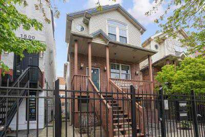 Single Family Home For Sale: 1504 North Paulina Street