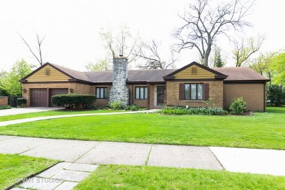 Flossmoor Single Family Home For Sale: 2638 Gordon Drive
