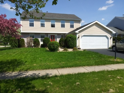 Streamwood Single Family Home Price Change: 89 Whispering Drive