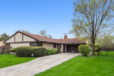 Wilmette Single Family Home For Sale: 3253 Sprucewood Lane