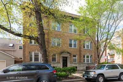 Condo/Townhouse For Sale: 1341 West Waveland Avenue #1E