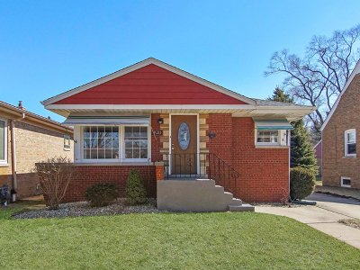 Evergreen Park Single Family Home For Sale: 9121 South Springfield Avenue