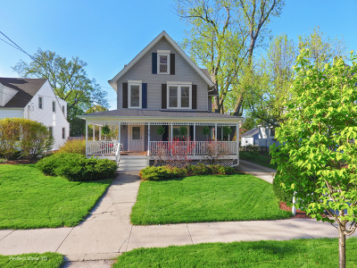 Wheaton Single Family Home For Sale: 318 East Union Avenue