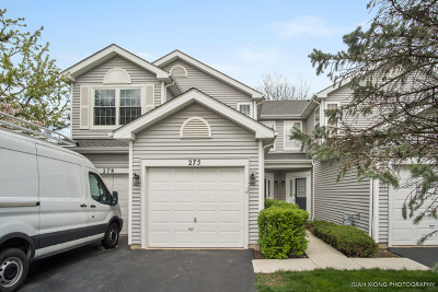 Schaumburg Condo/Townhouse For Sale: 275 Meribel Court