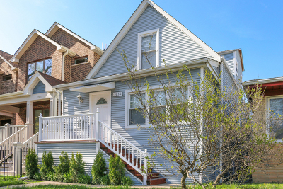 Single Family Home Re-Activated: 3738 West Addison Street