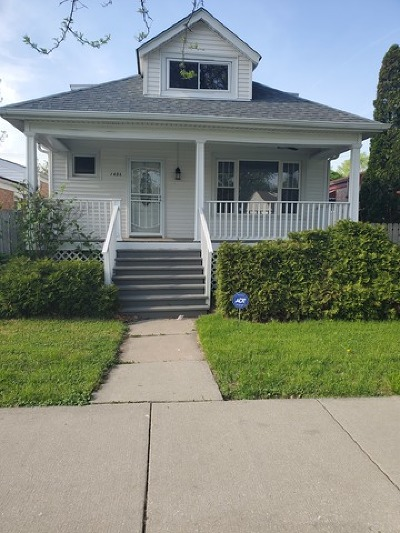 Chicago IL Single Family Home Re-Activated: $175,000