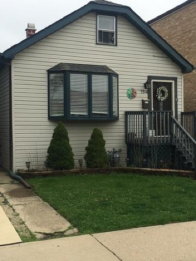 Elmwood Park Single Family Home New: 7341 West Fullerton Avenue